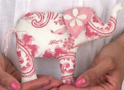 Lily the Elephant Petite Pattern by Bunny Hill Designs