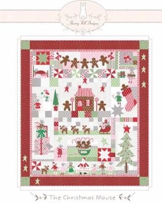 Christmas Mouse Quilt Pattern from Bunny Hill