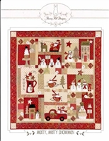 Merry, Merry Snowman Quilt Pattern from Bunny Hill