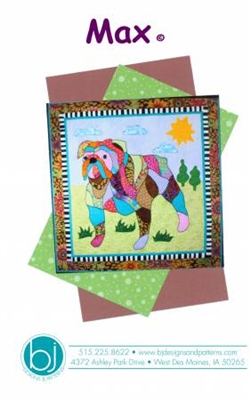 MAX Applique Dog Quilt Pattern