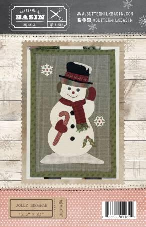 Jolly Snowman Quilt Pattern By Buttermilk Basin