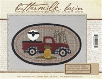 Mini Vintage Truck Thru The Year Quilt Pattern - August