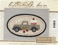 Mini Vintage Truck Thru The Year Quilt Pattern -November