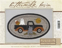 Mini Vintage Truck Thru The Year Quilt Pattern -October