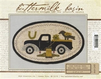 Mini Vintage Truck Thru The Year Quilt Pattern - March