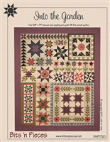 Into the Garden Quilt Pattern by Bit's N Pieces