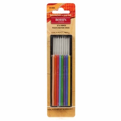 Bohin Chalk Pencil REFILL  Set