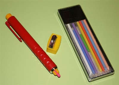 Bohin Chalk Pencil Refillable Mechanical Marking Pencil Set