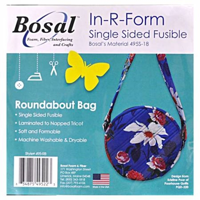 In R Form Single Sided Fusible - Roundabout Bag