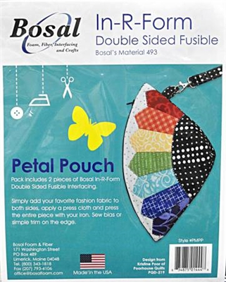 In R Form For Petal Pouch Bag Pattern by Poorhouse Designs