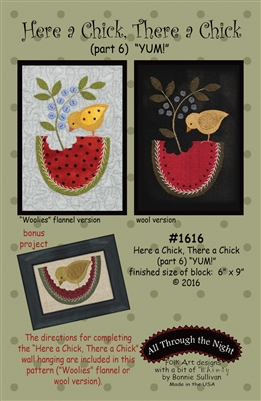 Here A Chick, There A Chick- #6 Quilt Pattern by Bonnie Sullivan
