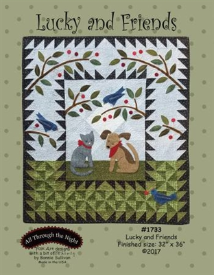 Lucky and Friends  Quilt Pattern by Bonnie Sullivan