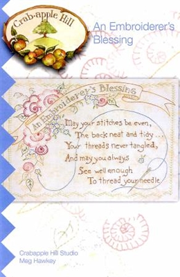 An Embroiderer's Blessing from Crabapple Hill Studio