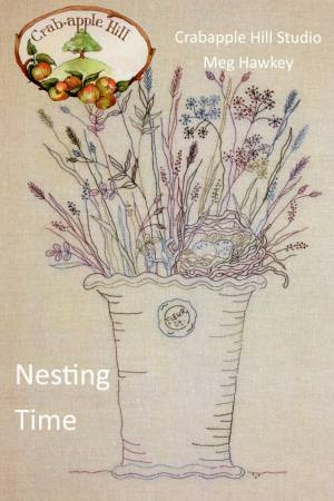 Image result for nesting time embroidery pattern