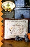 Autumn Harvest Embroidered Pillow Pattern