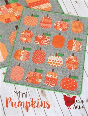 Mini Pumpkins Pattern from Cluck Cluck Sew