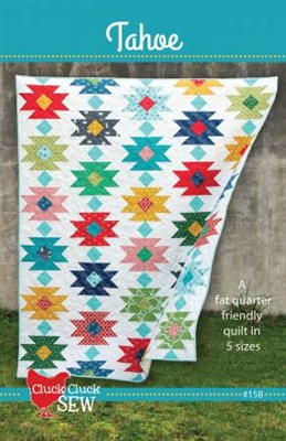Tahoe Quilt Pattern from Cluck Cluck Sew