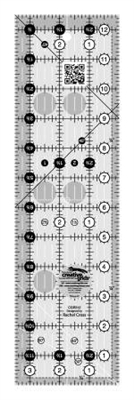 Creative Grids Quilt Ruler 3-1/2in x 12-1/2in CGR312