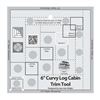 Creative Grids Curvy-6 Log Cabin Trim Tool