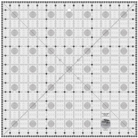 Creative Grids Charming Itty Bitty Eights Square XL 15in x 15in Quilt Ruler