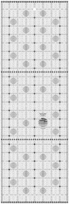 Creative Grids Charming Itty Bitty Eights Rectangle XL 8in x 24in Quilt Ruler # CGRPRG5