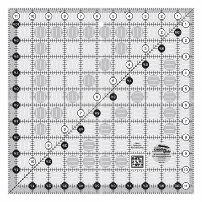 Creative Grids Quilt Ruler 11-1/2in Square # CGR11