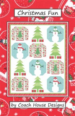 Christmas Fun Quilt Pattern by Coach House Designs