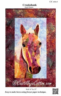 Crookshank the Horse Quilt Pattern