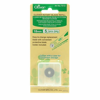 CLOVER 18mm Replacement Blade 5 Ct
