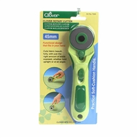 CLOVER 45mm Soft Grip Rotary Cutter