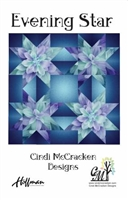 Evening Star Quilt Pattern from Cindi McCracken Designs