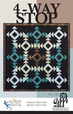 Four Way Stop Quilt Pattern from Cindi McCracken