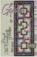 Garden Path Runner Quilt Pattern from Cindi McCracken Designs