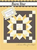 Barn Star Quilt Pattern by Corriander Quilts
