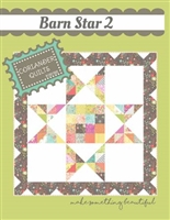 Barn Star Quilt Pattern # 2 by Corriander Quiltss