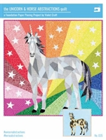 Unicorn & Horse Abstractions Quilt by VIOLET CRAFT