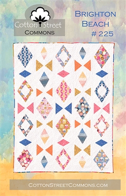 Brighton Beach Quilt Pattern by Cotton Street