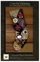 Crazy for Christmas Stocking Pattern