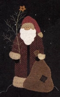 Northwood's Santa Quilt Pattern  from Cotton Tales