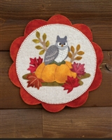 Oscar the Owl Wool Applique Quilt Pattern