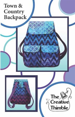 Town & Country Backpack Bag Pattern