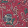 Charlotte Jacobean Chintz Red by MIchelle Yeo