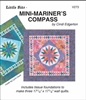 Little Bits Mini Mariner's Compass Paper Piecing Pattern
