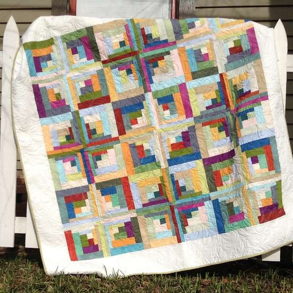 Carousel 60in X 60in Quilt Pattern Uses Creative Grids
