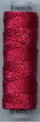 Dazzle 50 Yard Mini Spool of Sue Spargo's Dazzle Thread Bright Rose