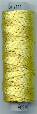 Dazzle 50 Yard Mini Spool of Sue Spargo's Dazzle Thread   Limelight