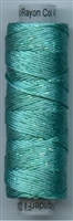 Dazzle 50 Yard Mini Spool of Sue Spargo's Dazzle Thread  PARROT BLUE