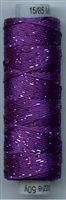 Dazzle 50 Yard Mini Spool of Sue Spargo's Dazzle Thread Sparkling Grape