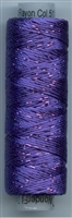 Dazzle 50 Yard Mini Spool of Sue Spargo's Dazzle Thread Prism Violet