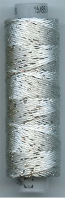 Dazzle 50 Yard Mini Spool of Sue Spargo's Dazzle Thread  SUMMER SHOWER SILVER